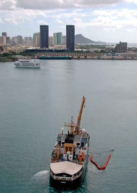 U.S. Coast Guard cutter Kukui off Oahu