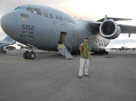 Out in front of the C17