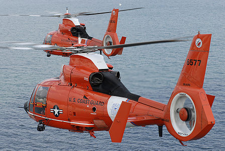 US Coast Guard HH65 Dauphine