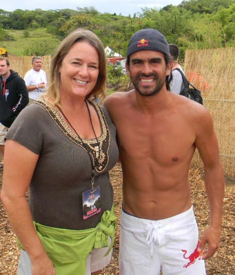 Irondog PR President, Jessica Ferracane and Orlando Duque