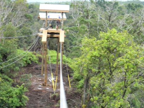Honoli'i Mountain Outpost Ziplines
