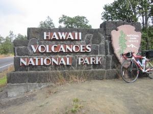 Hawaii Volcanoes National Park Entrance