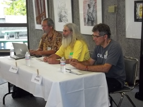 Ian Lind, Andy Parx and John Temple talk about Blogging and New Media Journalism