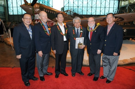 Opening of the P-40 AVG Exhibit