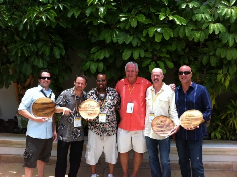 Some of the 2011 winners of the Big Island Film Festival