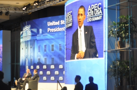President Obama Discussion at APEC 2011