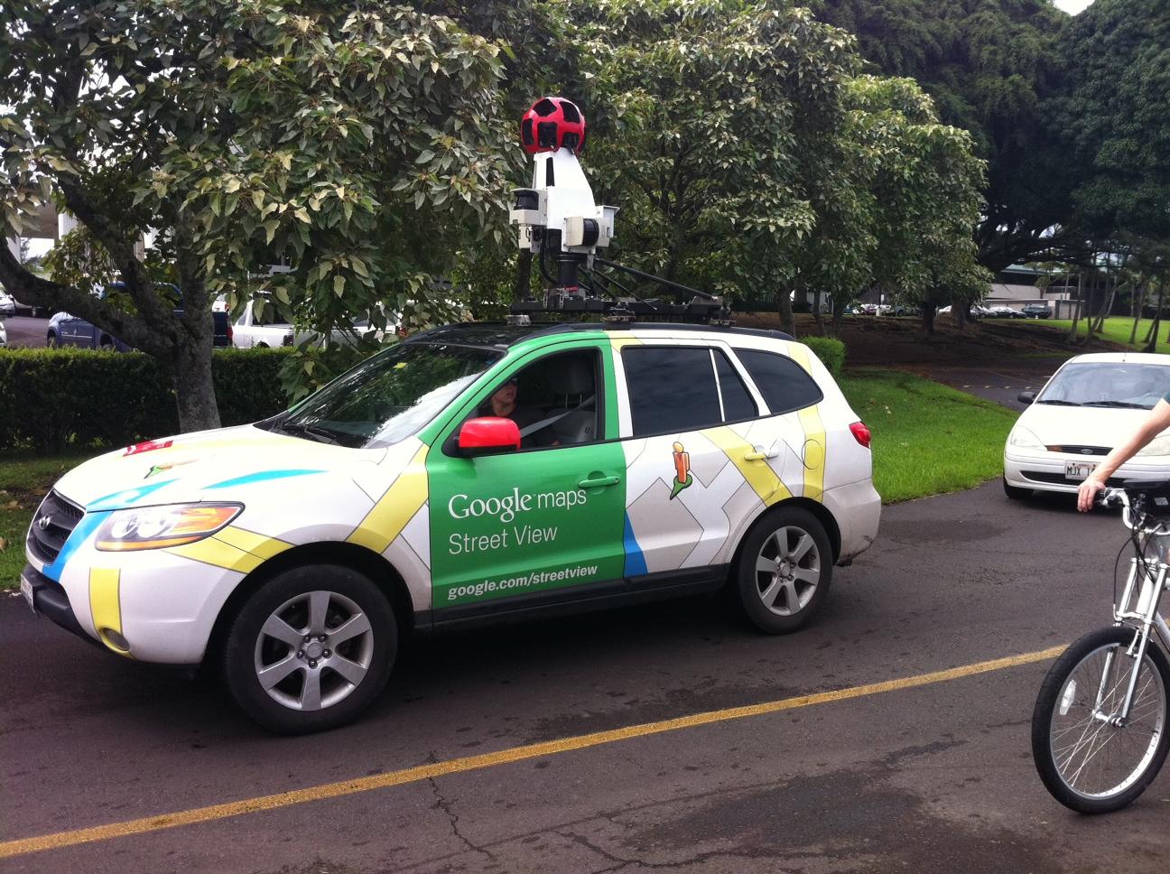 Street View – The Bike and The Car on the Big Island » Google Car