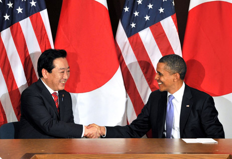 REMARKS BY PRESIDENT OBAMA  AND PRIME MINISTER NODA OF JAPAN  BEFORE BILATERAL MEETING