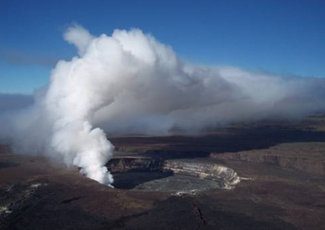 Hawaii Volcanoes National Park (Courtesy USGS)