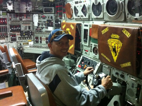 Me inside the US Navy Nuclear Sub the USS Cheyenne