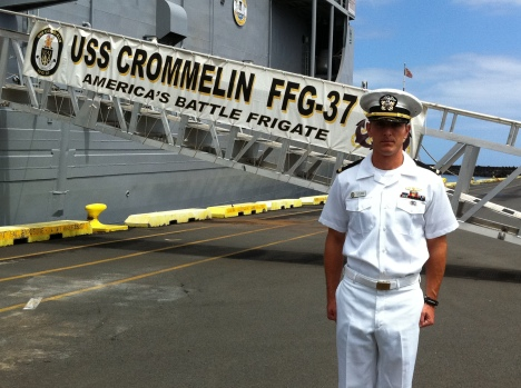Mahalo for your hospitality Ensign Sharp!