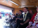 East Hawaii Democratic Bus Stop Rally 061