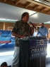 East Hawaii Democratic Bus Stop Rally 063