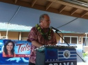 East Hawaii Democratic Bus Stop Rally 079