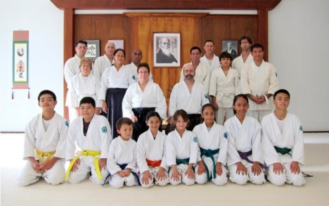 Members of Akido of Hilo