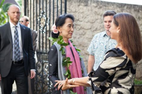 Aung San Suu Kyi's 2