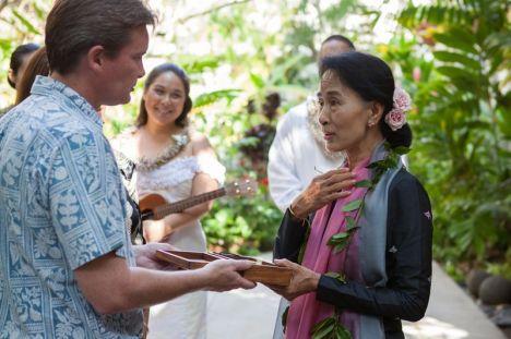 Aung San Suu Kyi's 3