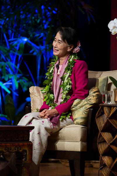 Nobel Peace Laureate Aung San Suu Kyi