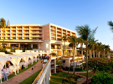 The Grand Wailea in Maui