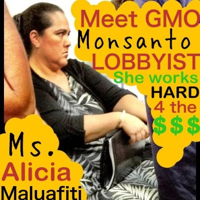 Photo from the GMO Free Hawaii Facebook page