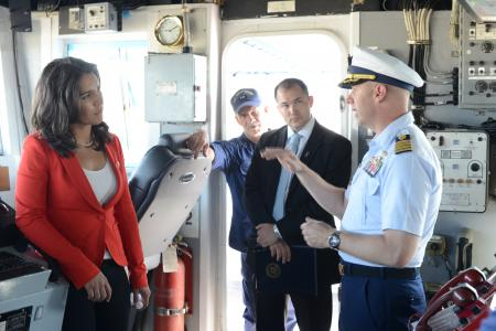 Tulsi Coast Guard Captain