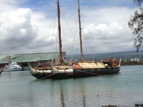 The Hokulea in Hilo