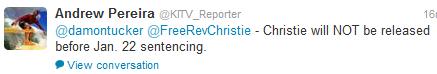 Christie Release Date