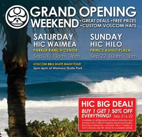 HIC Grand Opening
