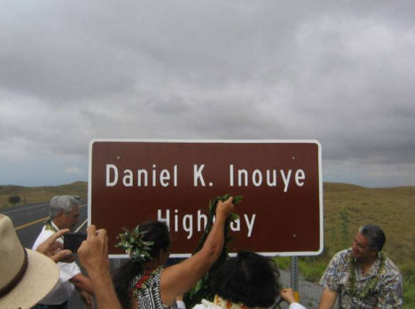 The Daniel K. Inouye Highway opened this weekend.  Photo by Aaron Stene