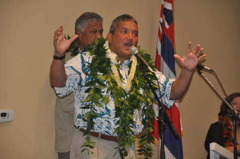 Mayor Kenoi at the APEC Conference