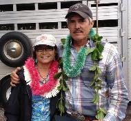Mana Award Winners Wallie Kimura-Nobriga and Edwin Nobriga.