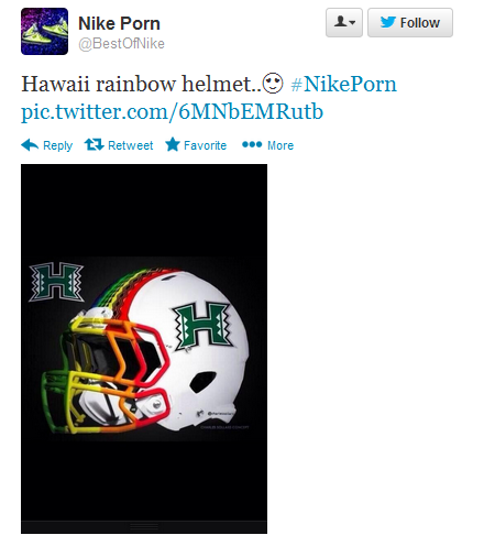 New UH Helmet Tweet