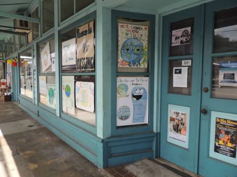 Posters displayed in Honoka'a. Sarah Anderson Photography