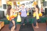 "Brad ""Tiki Shark"" Parker gets down at the Body Glove 60th Anniversary Pary"