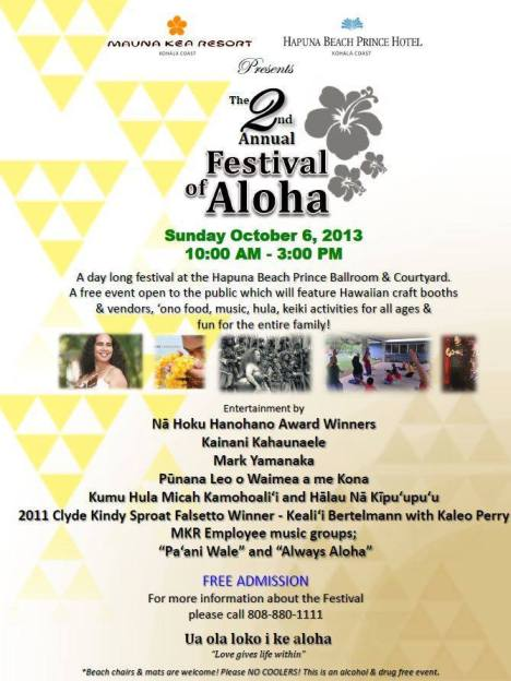 Festival of Aloha