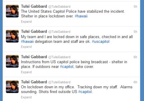 Gabbard Tweets