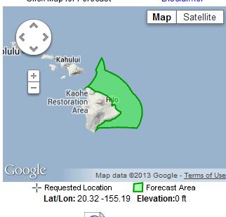 1:55 Hawaii Time
