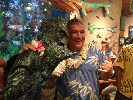 Creature From the Black Lagoon and Mayor Kenoi