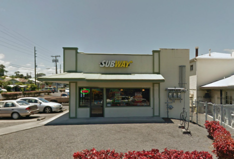 Big Island Police are investigating an attempted burglary at this Subway in Hilo.
