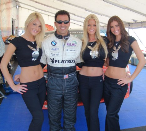 Tommy Constantine and some Playboy models.
