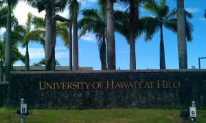 The attack occurred in a women's restroom at UH Hilo