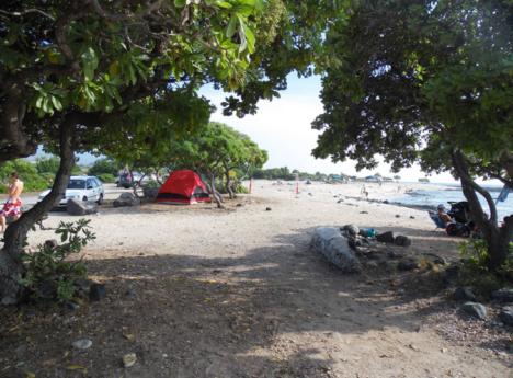 Kohanaiki Beach Park. Photo Courtesy County of Hawaii Parks & Recreation