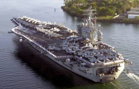 Nimitz in Pearl Harbor