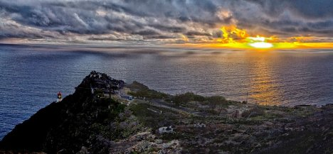 Photo by Kelvin Lu with view of the 2012 sunrise from Ka Iwi State Scenic Shoreline