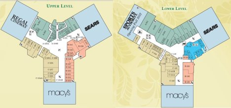 Windward Mall Floor Plan