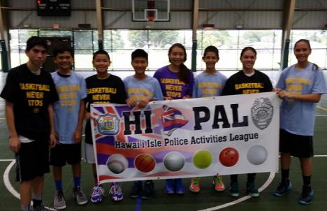 Intermediate Division (left to right): Makana Kanehailua, Branden Pagala, Jerek Prudencio, Randon Arima, Maddy Jwang, Gabriel Braun, Dabney Uchima, Jordyn Mantz.