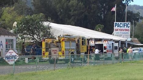 Another skydiving incident at Pacific Skydive