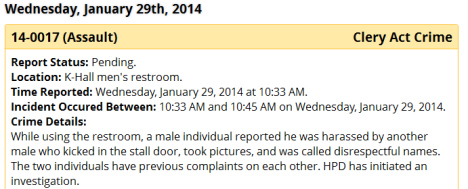 UHH Bathroom assault