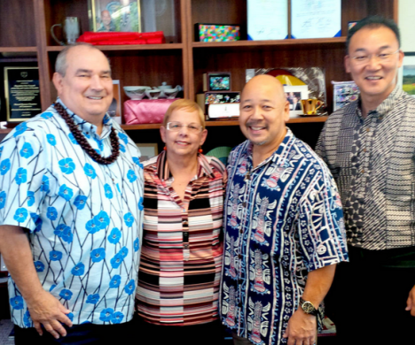 County Council Chairs for the Hawaiian Islands