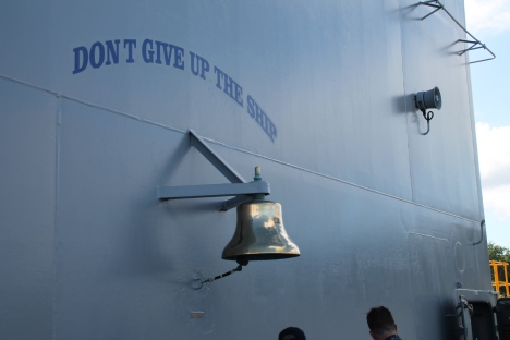 I got to tour the ship in December of 2013.